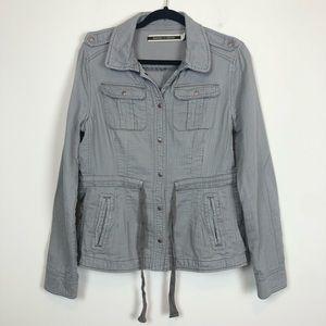 Anthropologie - Grey Utility Jacket